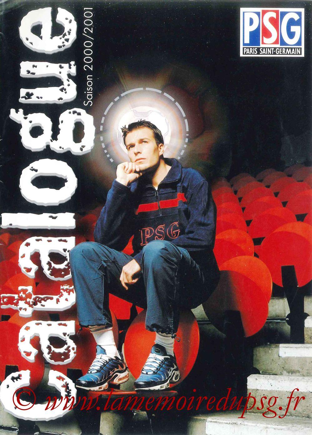Catalogue PSG - 2000-01