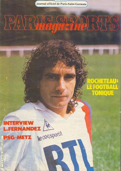 1983-08-20  PSG-Metz (6ème D1, Paris Sports Magazine N°19)
