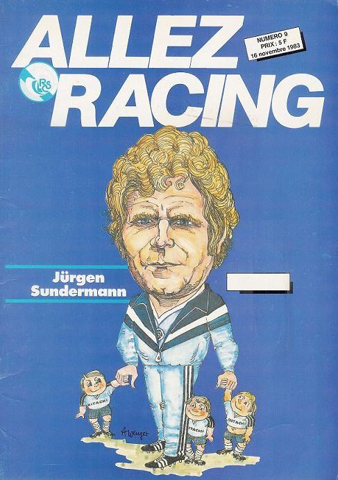 1983-11-16  Strasbourg-PSG (18ème D1, Allez Racing N°9)