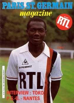 1985-03-05  PSG-Nantes (22ème D1, Match en retard, Paris SG Magazine N°16)