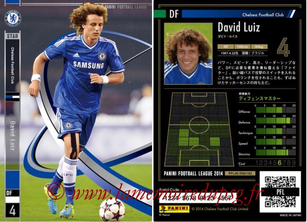 N° 058 - David LUIZ (2013-14, Chelsea > 2014-??, PSG)