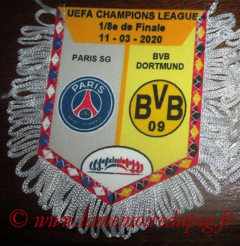 2020-03-11  PSG-Borussia Dortmund (8ème C1 retour)