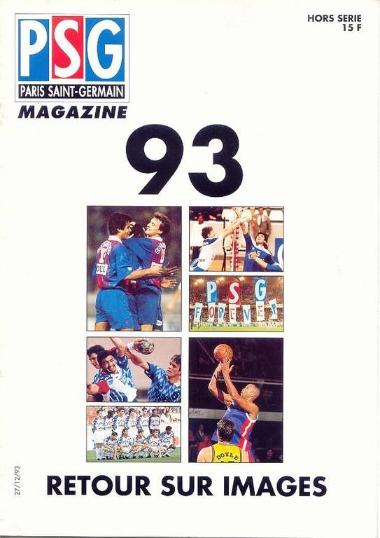 1993-12-27  Retour sur images 1993 (PSG Magazine N°HS)