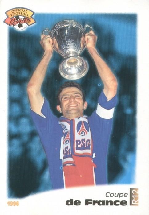 N° R12 - Coupe de France - Record de victoires en pour un joueur (Recto)
