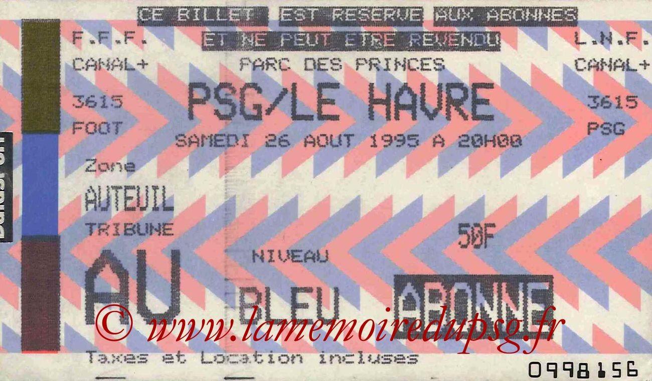 1995-08-26  PSG-Le Havre (6ème D1)