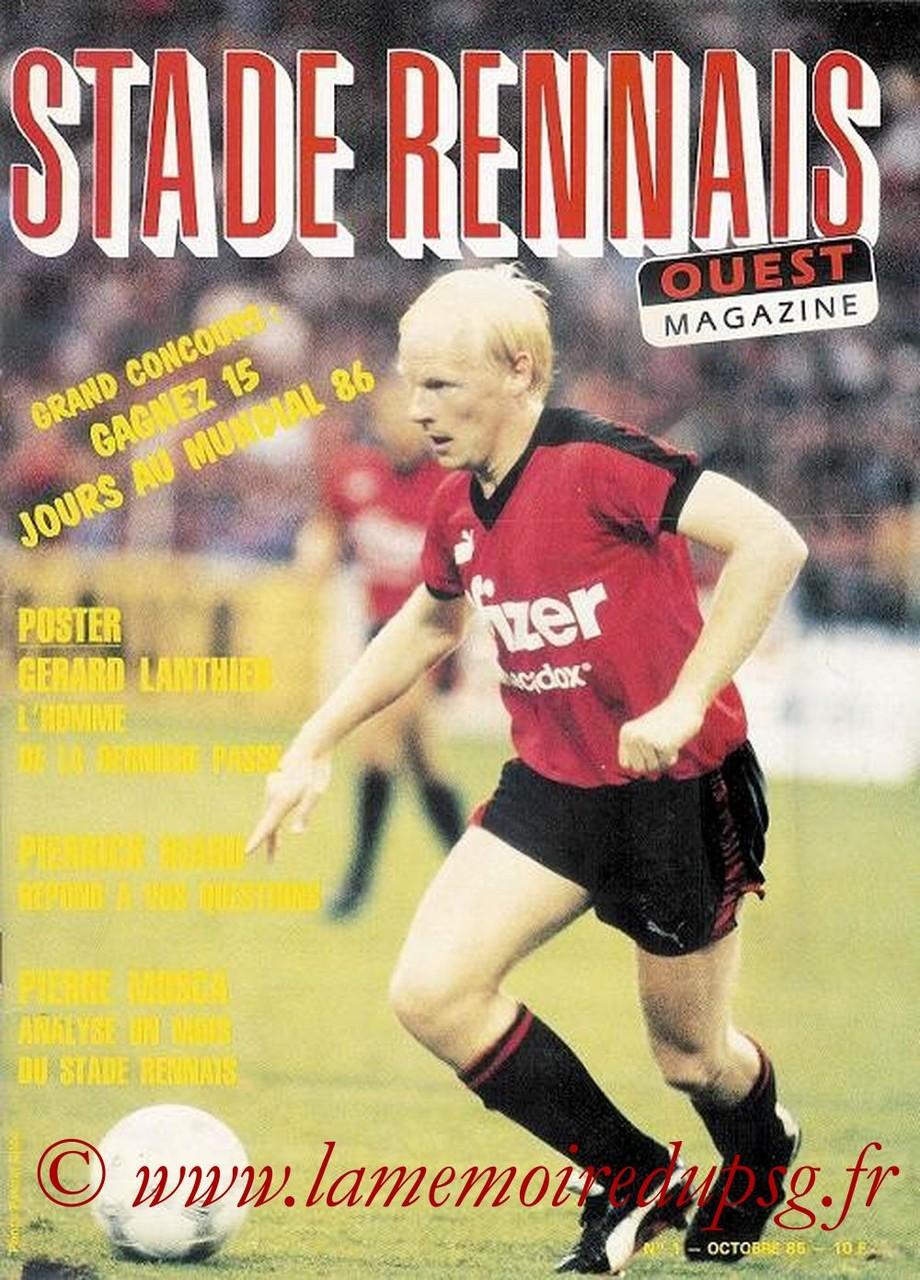 1985-10-04  Rennes-PSG (14ème D1, Stade Rennais N°1)