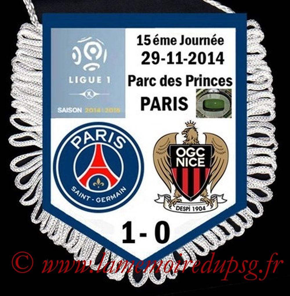 2014-11-29  PSG-Nice (15ème L1)