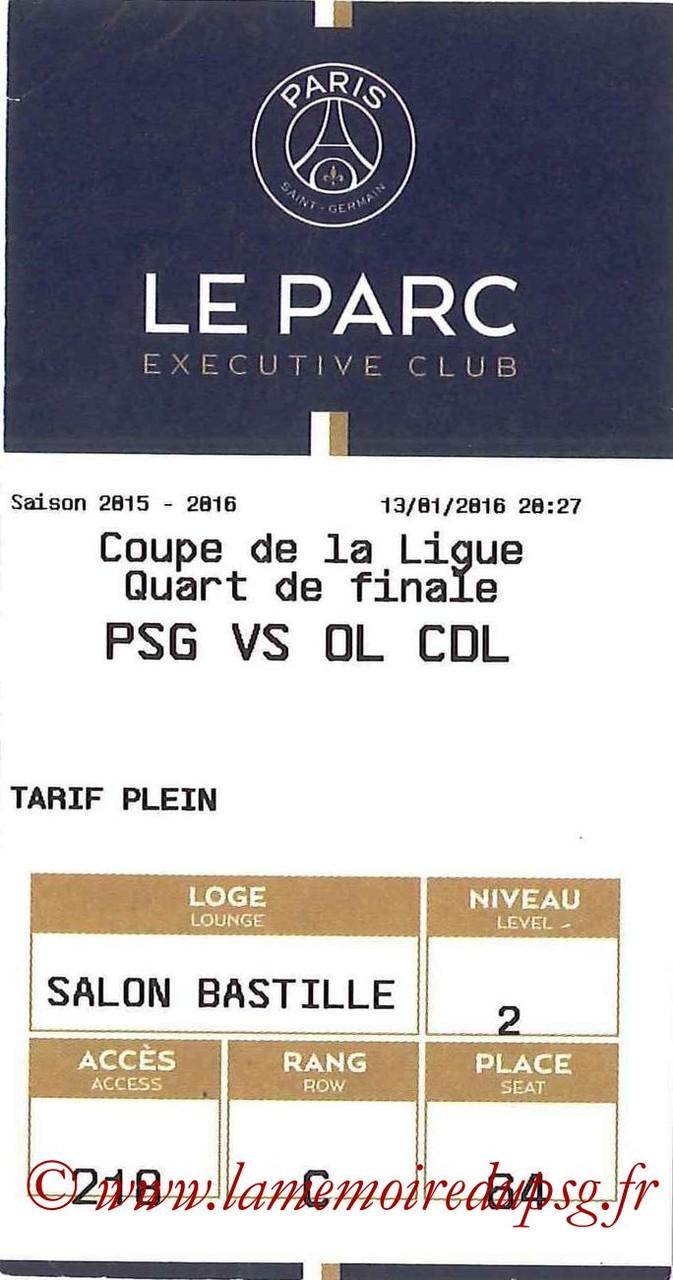 2016-01-13  PSG-Lyon (16ème CL, E-ticket Executive club)
