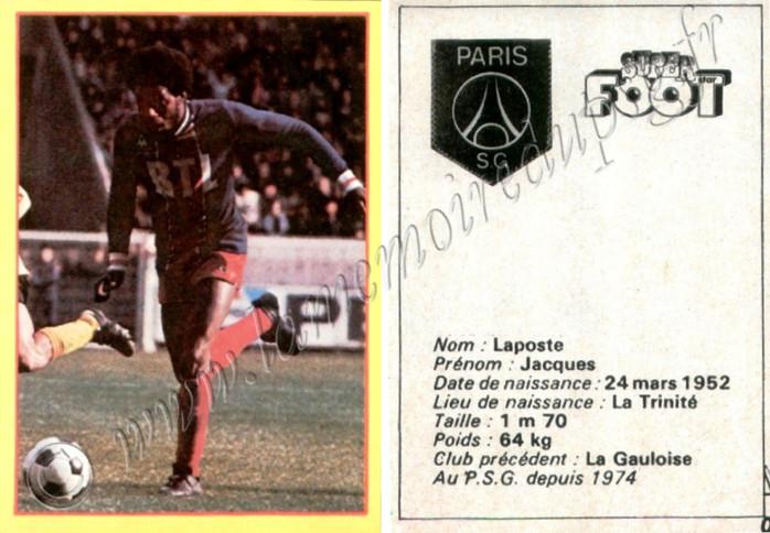 Jacques LAPOSTE