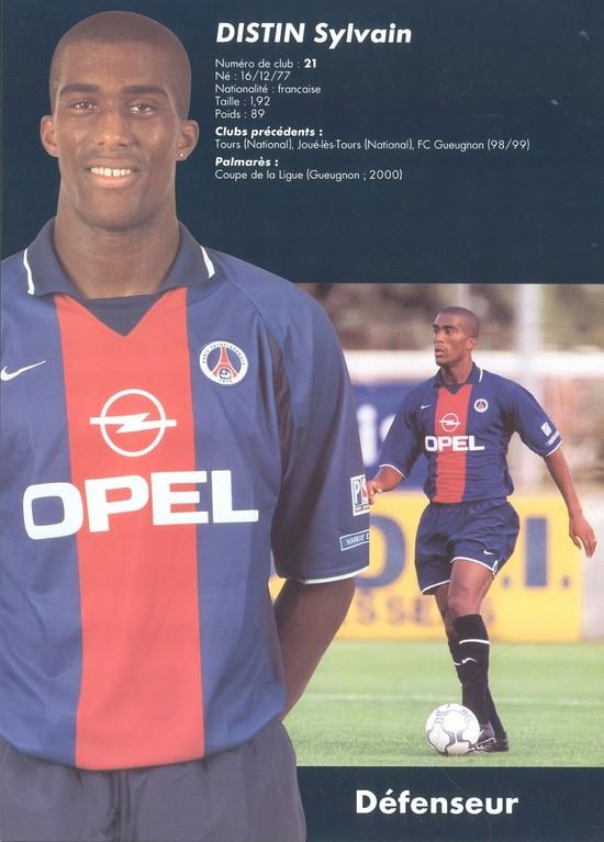 2000-01 - DISTIN Sylvain