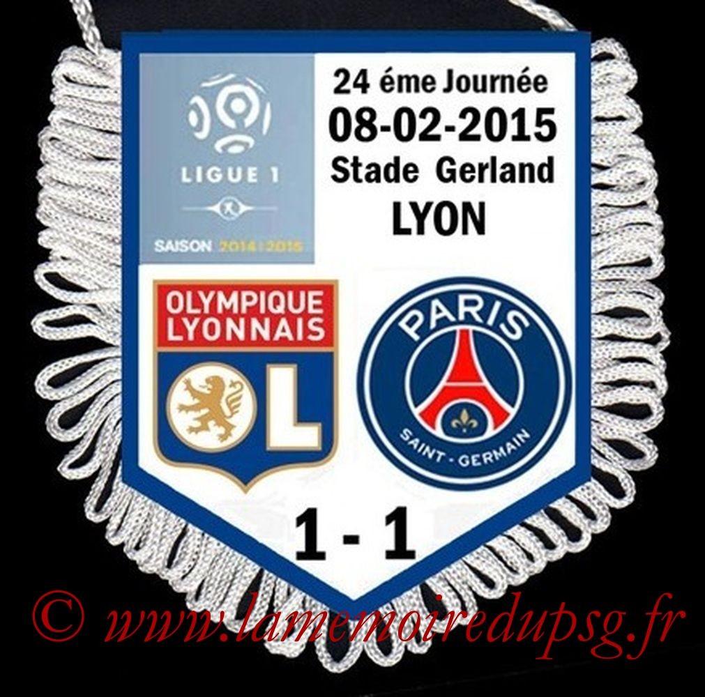 2015-02-08  Lyon-PSG (24ème L1)