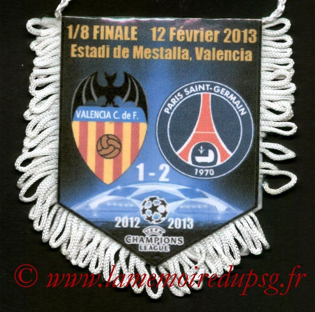 2013-02-12  Valence-PSG (8ème Finale Aller C1)