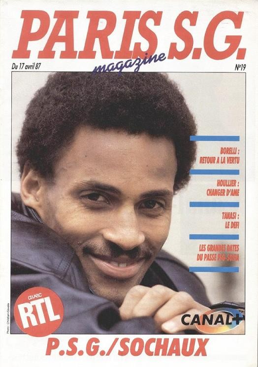 1987-04-17  PSG-Sochaux (32ème D1, Paris SG Magazine N°19)