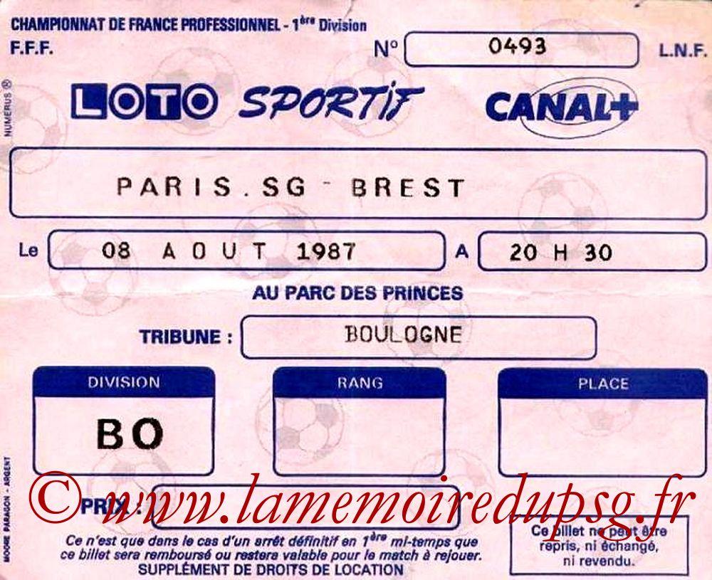 1987-08-08  PSG-Brest (4ème D1)