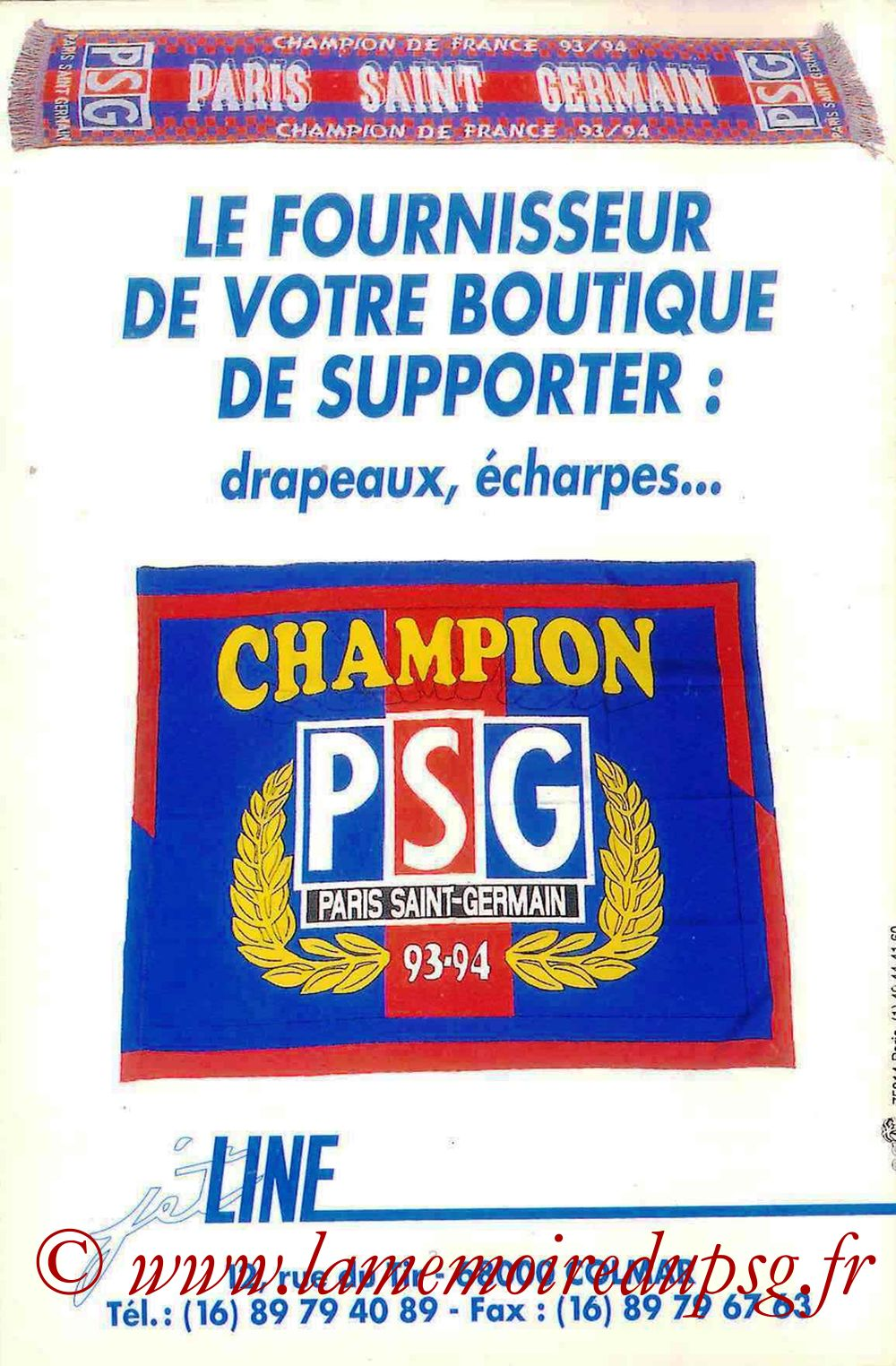 1994-95 - Guide de la Saison PSG - Pages 36