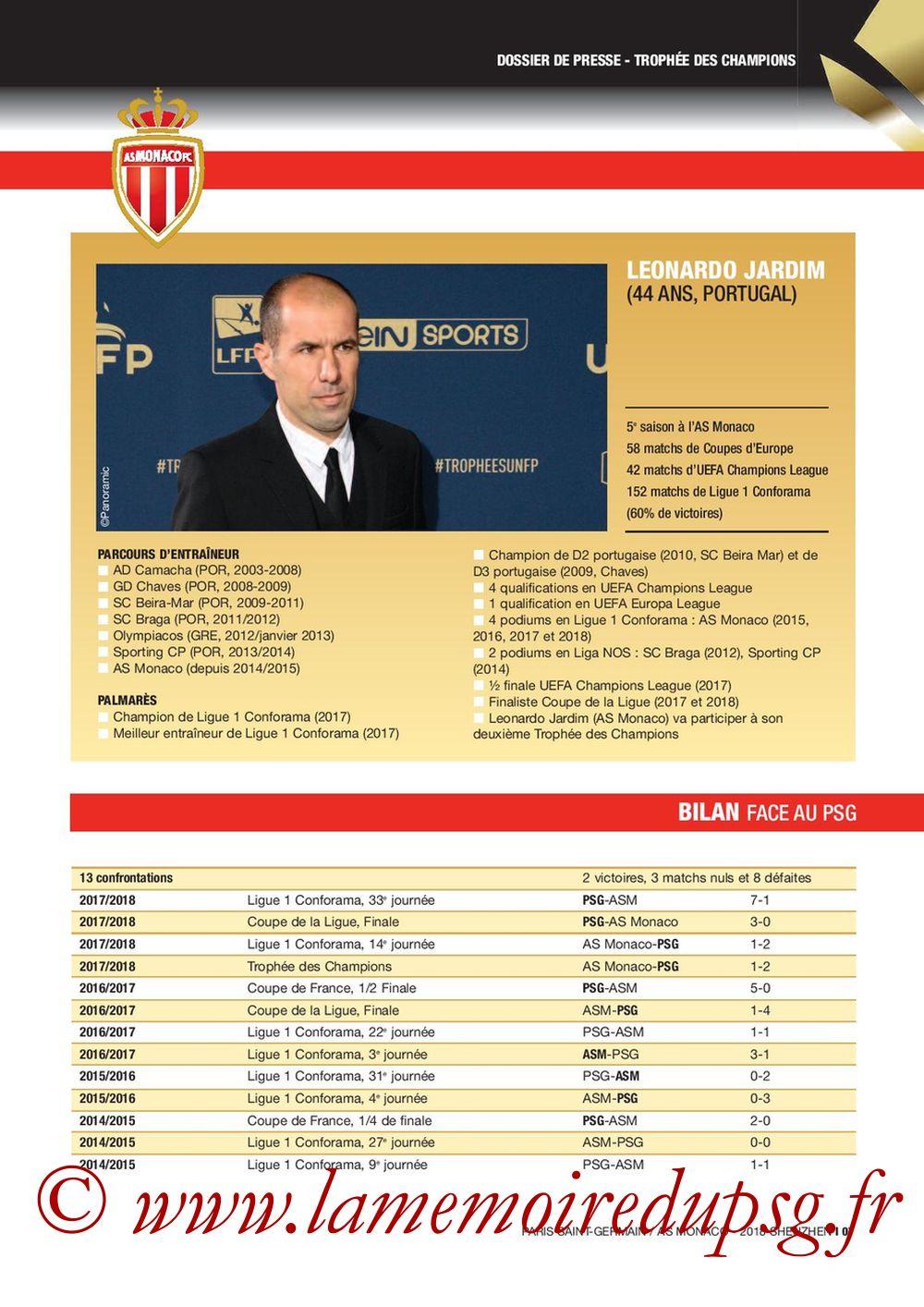 2018-08-04  PSG-Monaco (Trophée des Champions à Shenzhen, Dossier de Presse) - Page 07