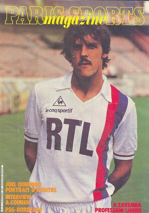 1983-11-05  PSG-Bordeaux (17ème D1, Paris Sports Magazine N°24)