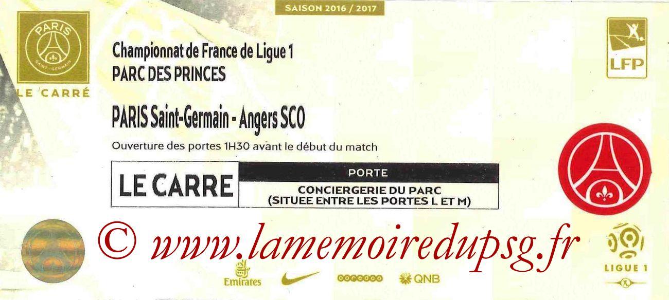 2016-11-30  PSG-Angers (15ème L1, Carré VIP)