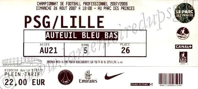 2007-08-26  PSG-Lille (5ème L1)