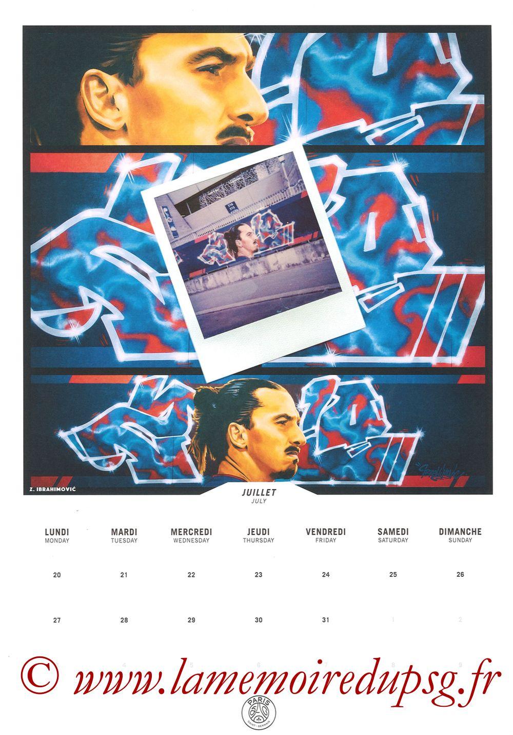 Calendrier PSG 2020 - Page 14 - IBRAHIMOVIC