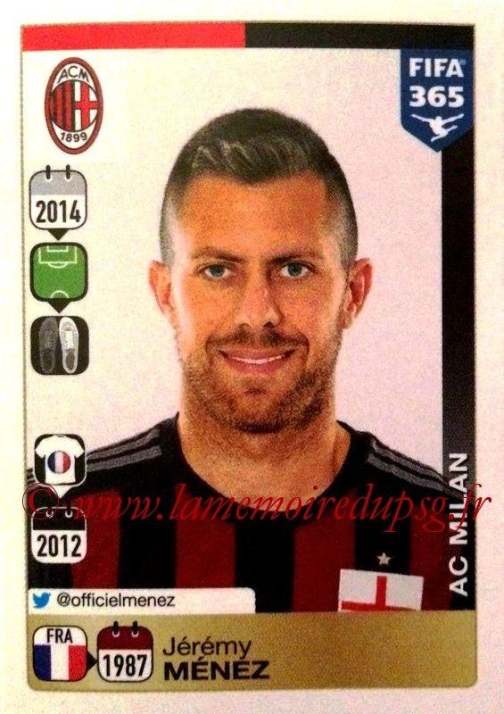 N ° 607 - Jeremy MENEZ (2011-14, PSG > 2014-15, Milan AC, ITA)