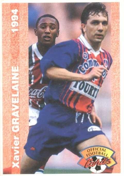 N° 218 - Xavier GRAVELAINE (Recto)