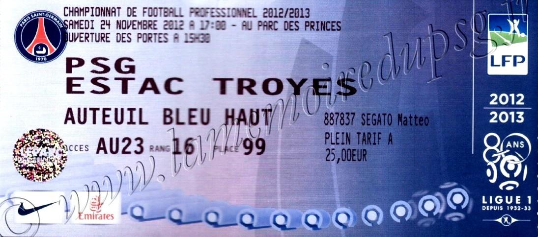 2012-11-24  PSG-Troyes (14ème L1)