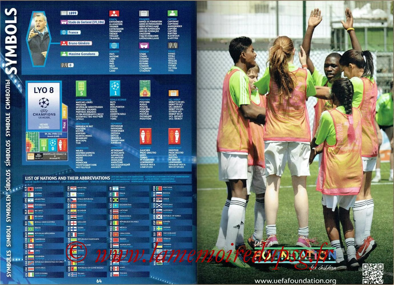 2016-17 - Topps UEFA Champions League Stickers - Pages 64 et 65 - Symboles