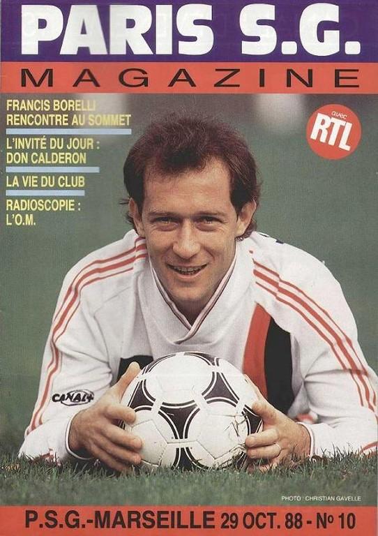 1988-10-29  PSG-Marseille (17ème D1, Paris SG Magazine N°10)