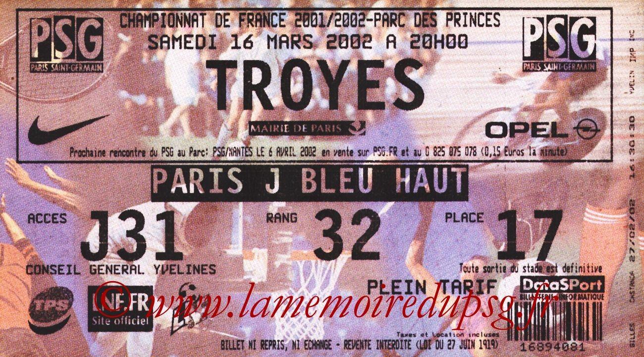 2002-03-14  PSG-Troyes (29ème D1, bis)