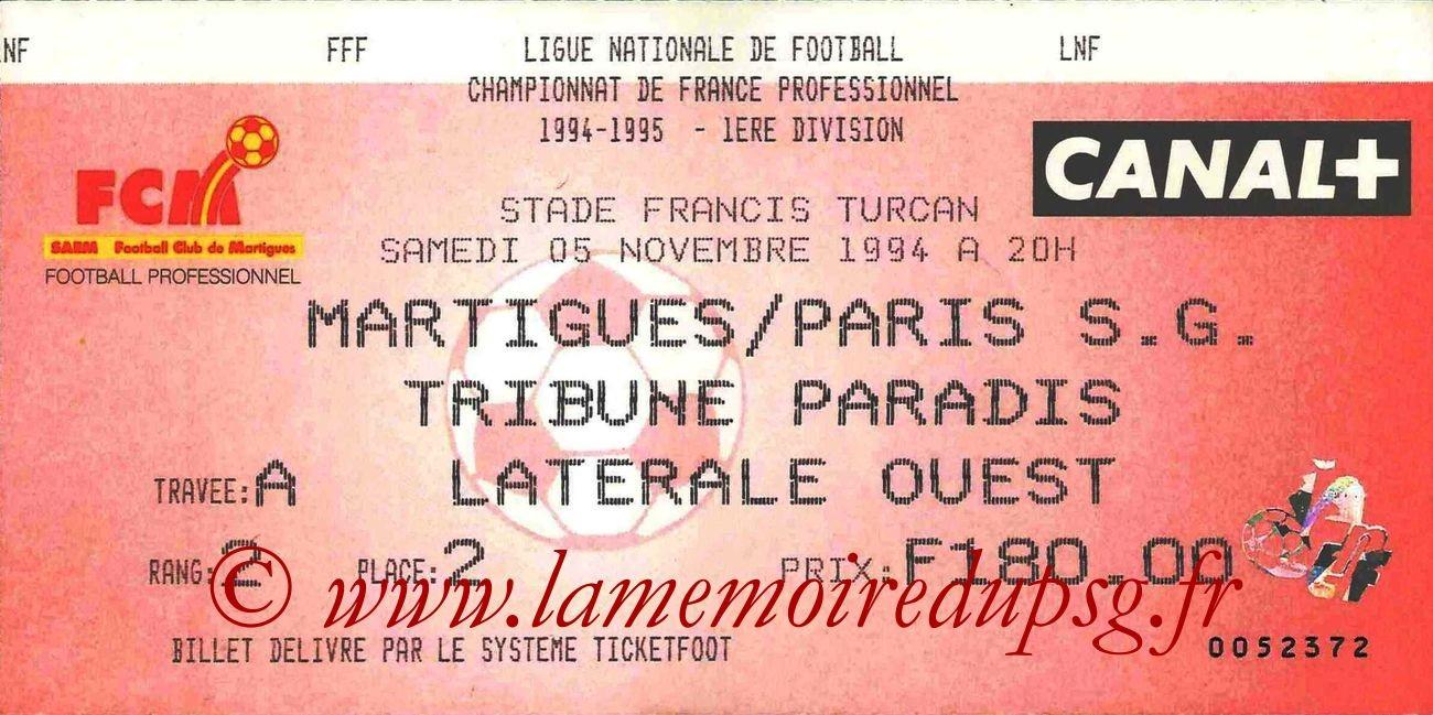 1994-11-05  Martigues-PSG (16ème D1)