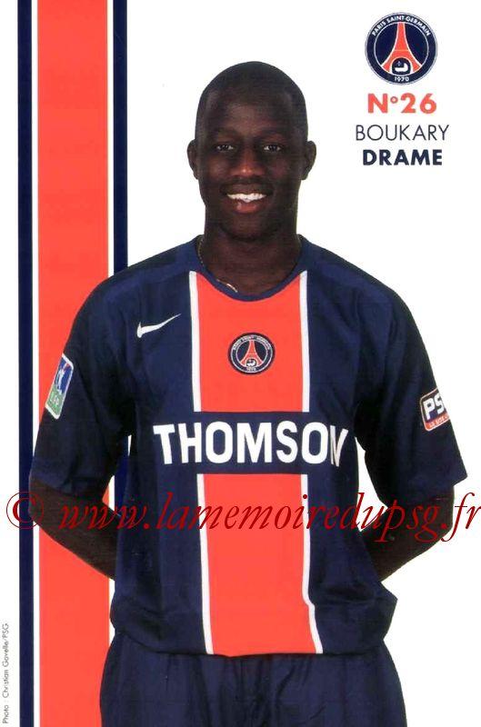 DRAME Boukary  05-06
