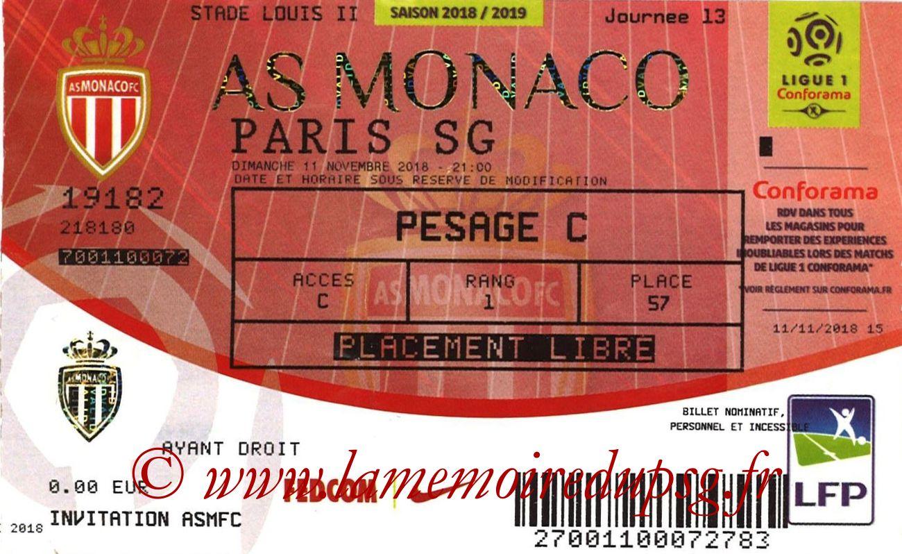 2018-11-11  Monaco-PSG (13ème L1)