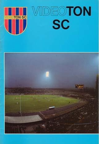 1984-11-07  Videoton-PSG (16ème Finale Aller C3, Livre donné avant le match)