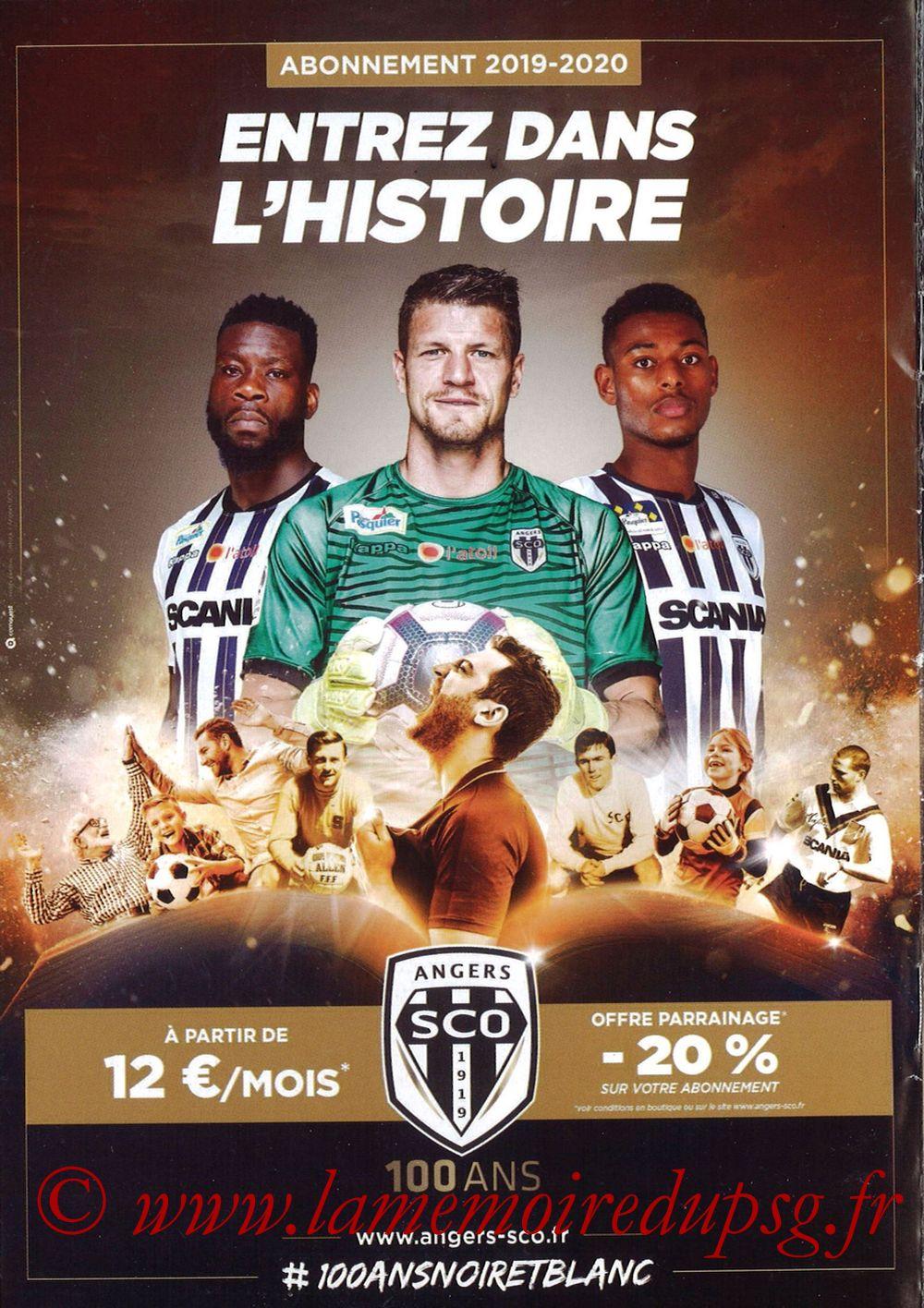 2019-05-11  Angers-PSG (36ème L1, Programme officiel N°18) - Page 12