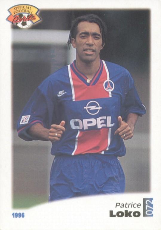 N° 072 - Patrice LOKO (Recto)