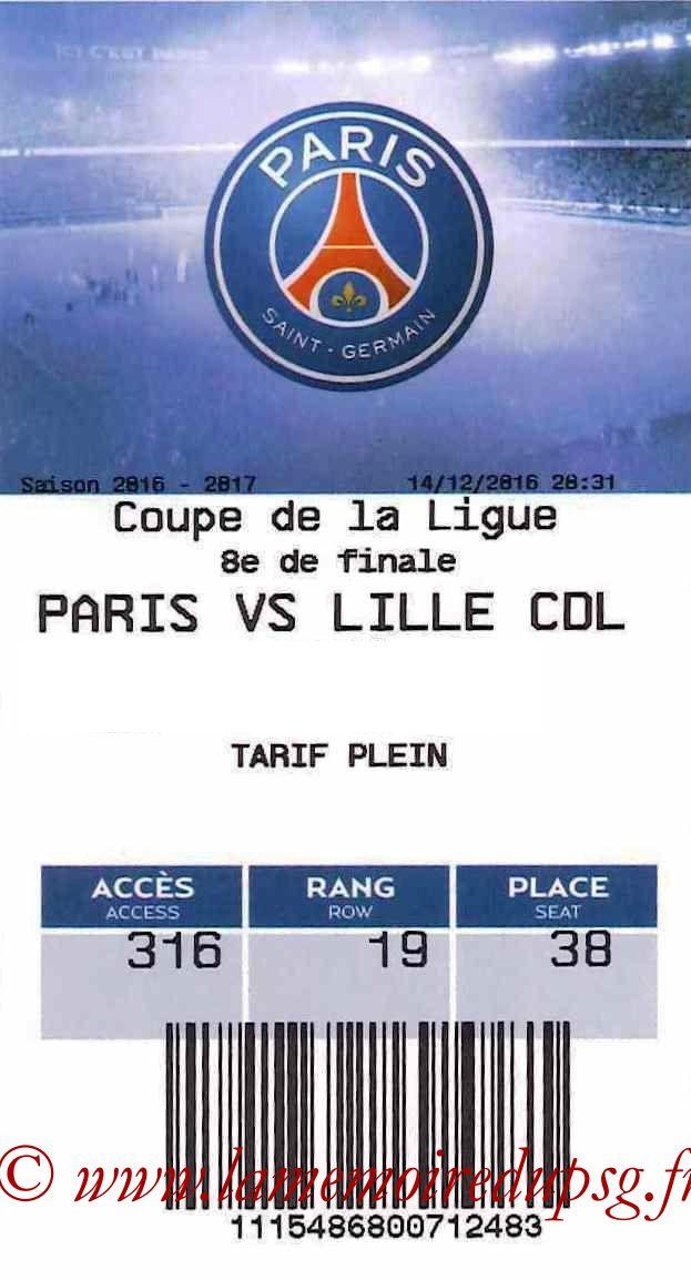 2016-12-14  PSG-Lille (8ème CL, E-ticket)