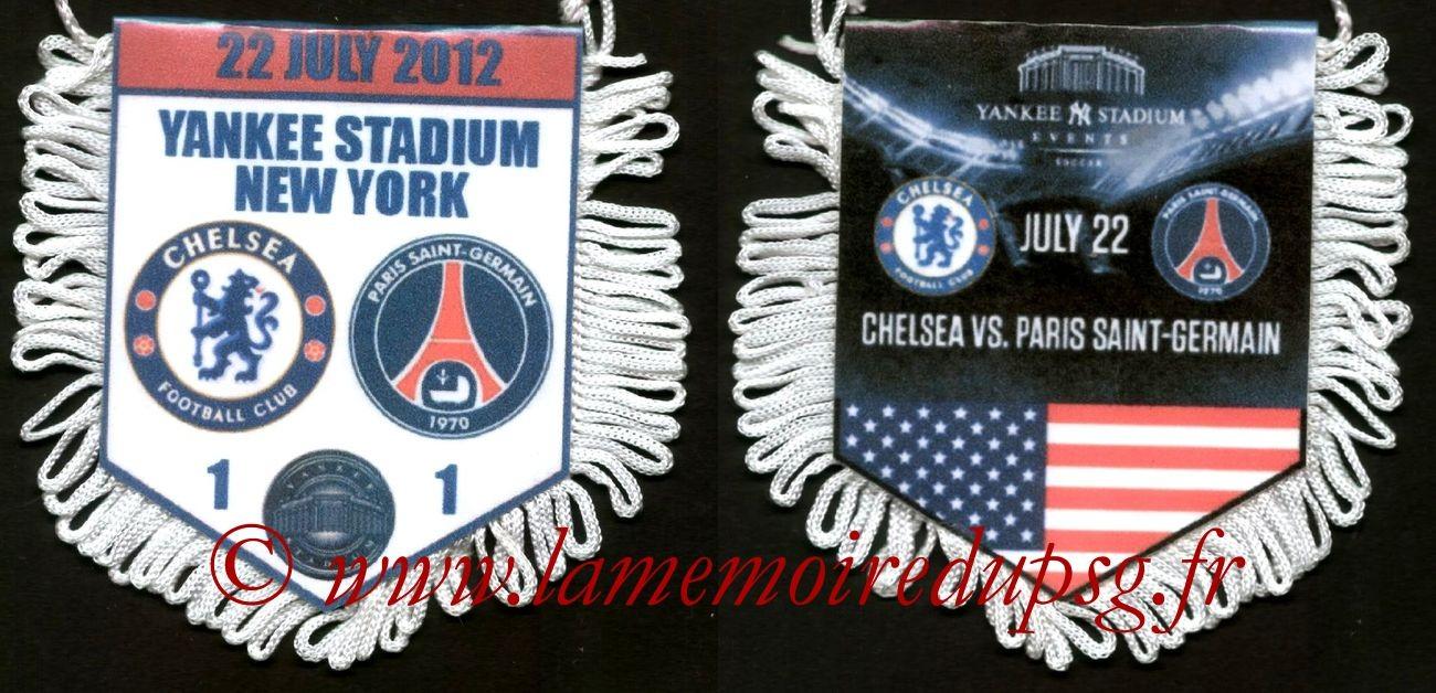 2012-07-22  Chelsea-PSG (Amical à New York)
