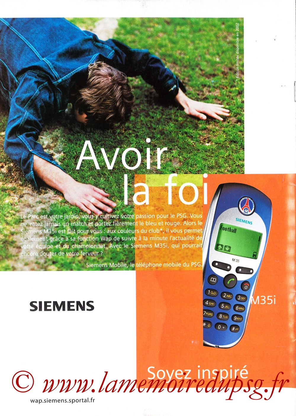 Catalogue PSG - 2001-02 - Page 32
