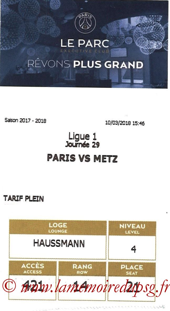 2018-03-10  PSG-Metz (29ème L1, E-ticket Executive club)