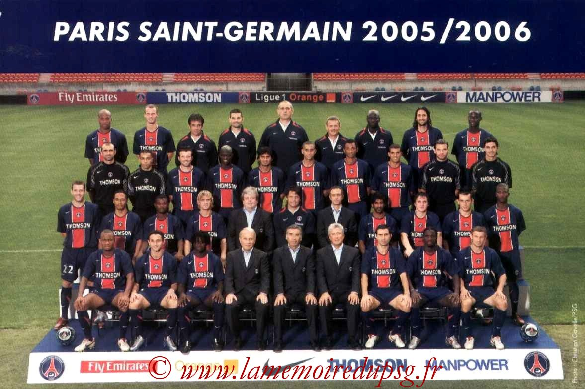 EQUPE PSG  05-06