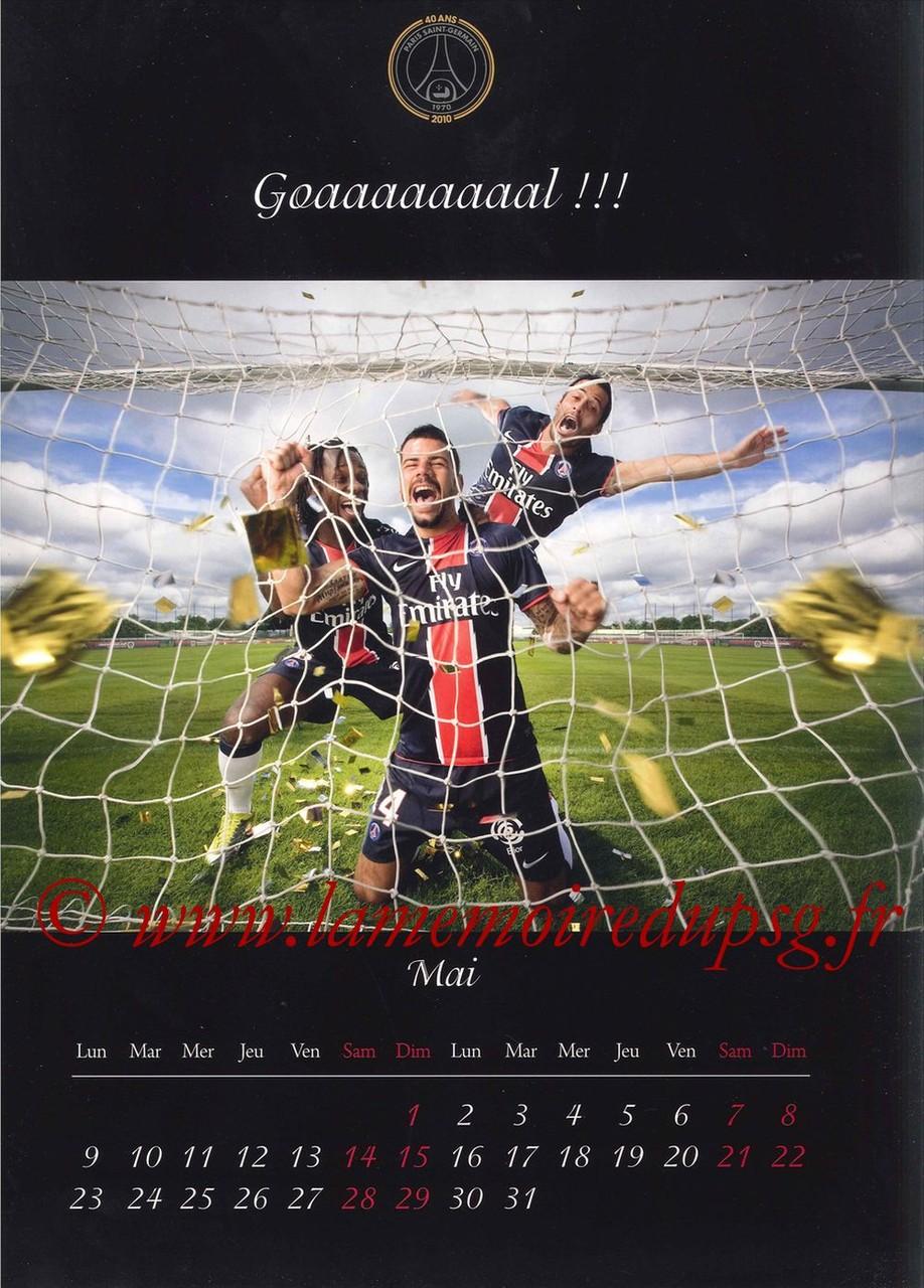 Calendrier PSG 2011 - Page 09 - Goaaaaaaaaaal !!!