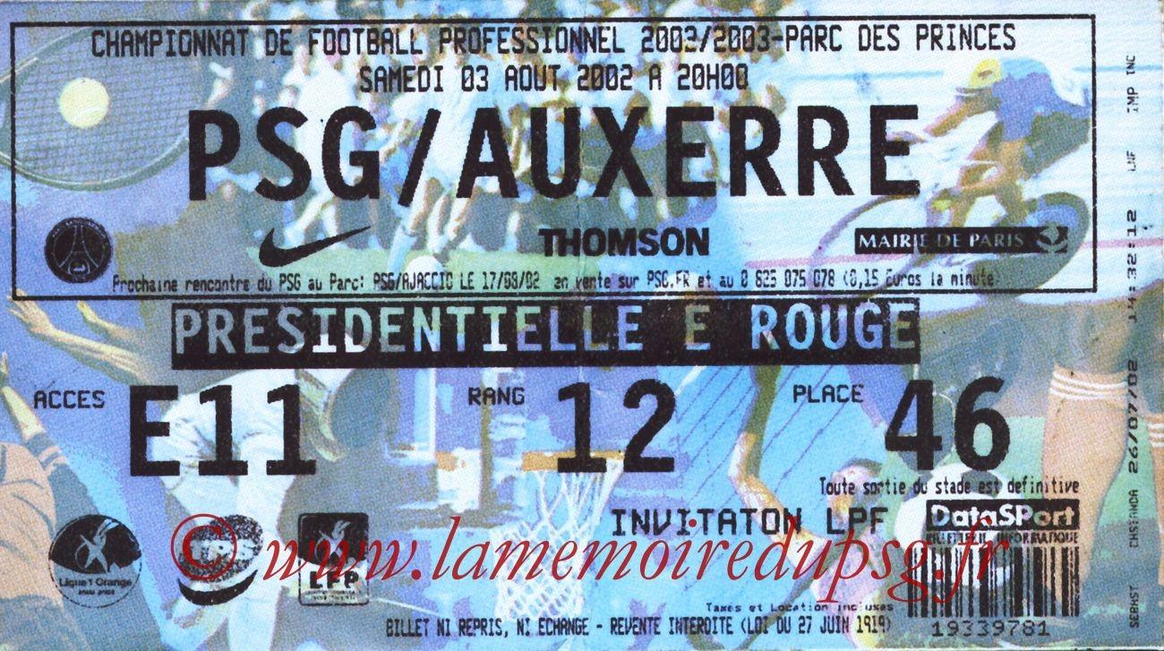 2002-08-03  PSG-Auxerre (1ère L1)