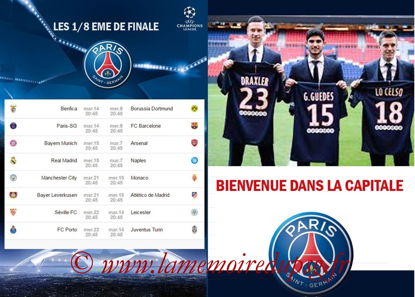 2017-02-14  PSG-Barcelone (8ème C1 aller, Programme pirate 2) - Pages 02 et 03