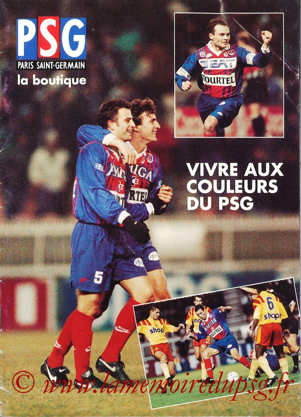 Catalogue PSG - 1993-94 - Page 01