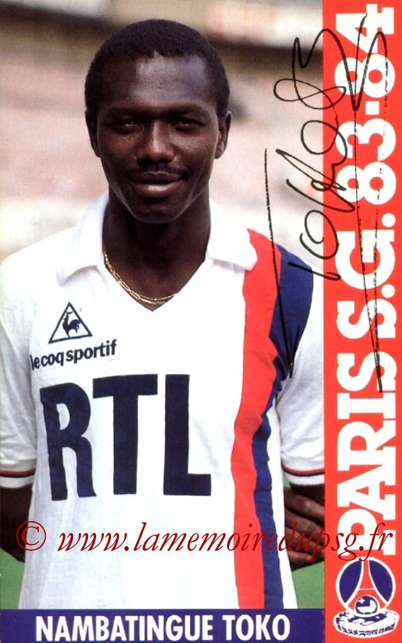 TOKO Nambatingue  83-84
