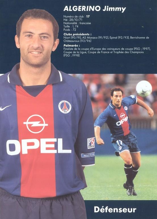 2000-01 - ALGERINO Jimmy