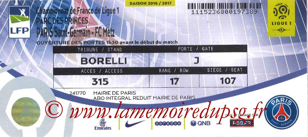 2016-08-22  PSG-Metz (2ème L1)
