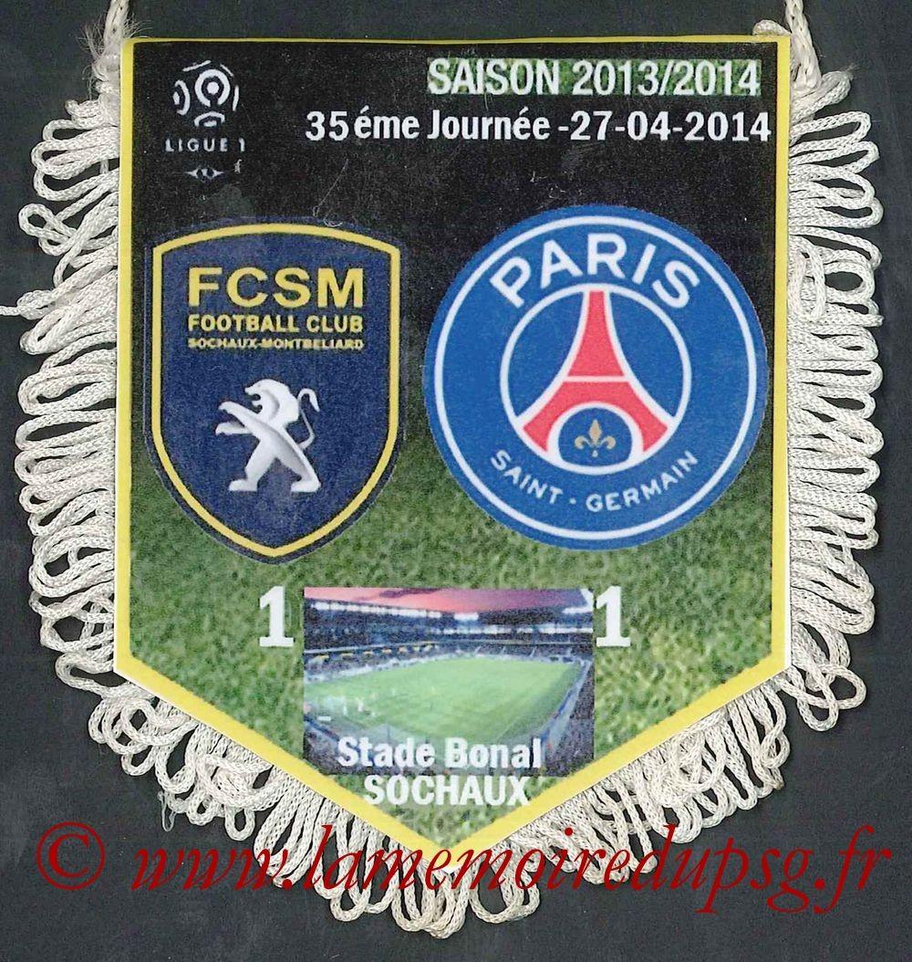 2014-04-27  Sochaux-PSG (35ème L1)