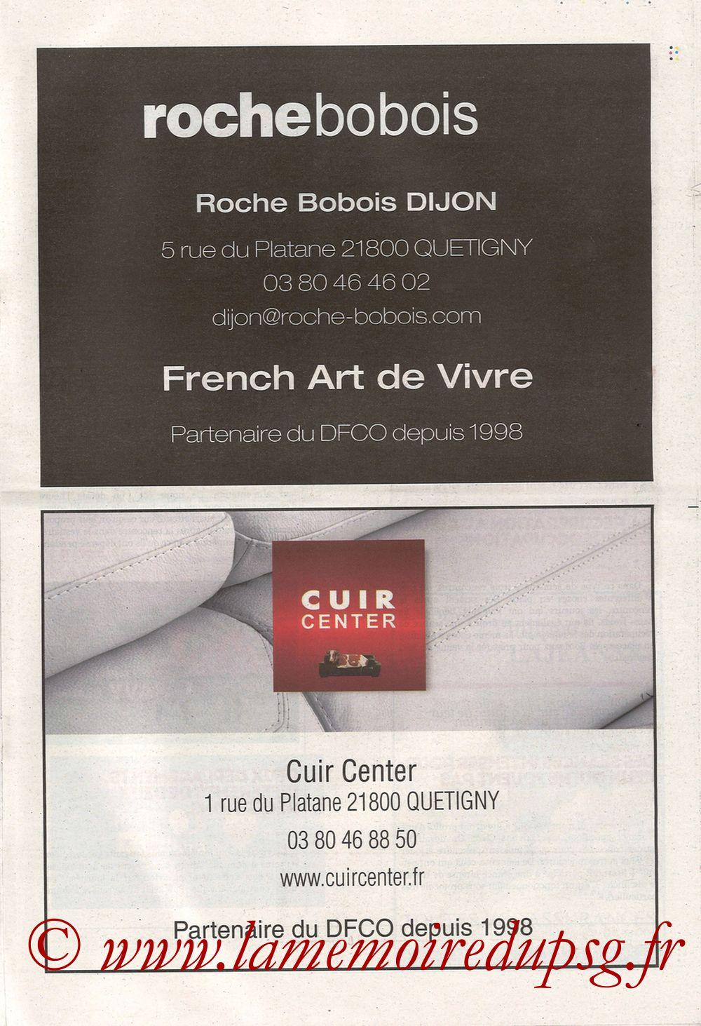 2019-11-01  Dijon-PSG (12ème L1, Chouett Infos) - Page 03